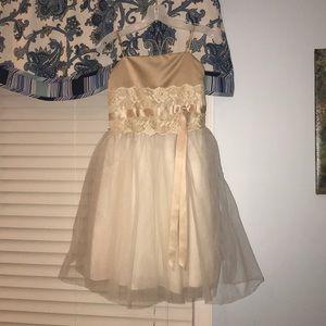 Flower girl dress size 14